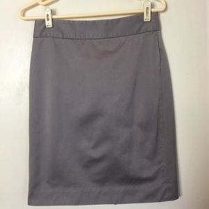 J Crew pencil skirt with slit in back.  No size.